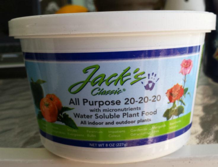Jacks Classic Fertilizer www.MermaidsandCashmere.com