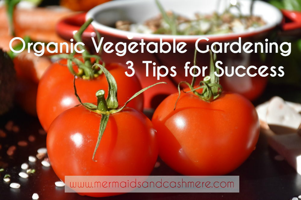 Organic Vegetable Gardening ~ 3 Tips For Success